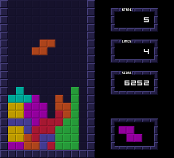 Tetris with Impact.js